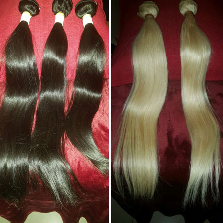 Human Hair Extention Products